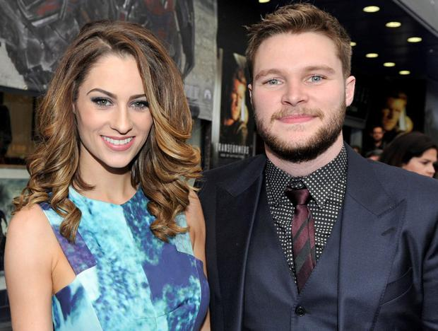 Madeline Mulqueen, with Jack Reynor