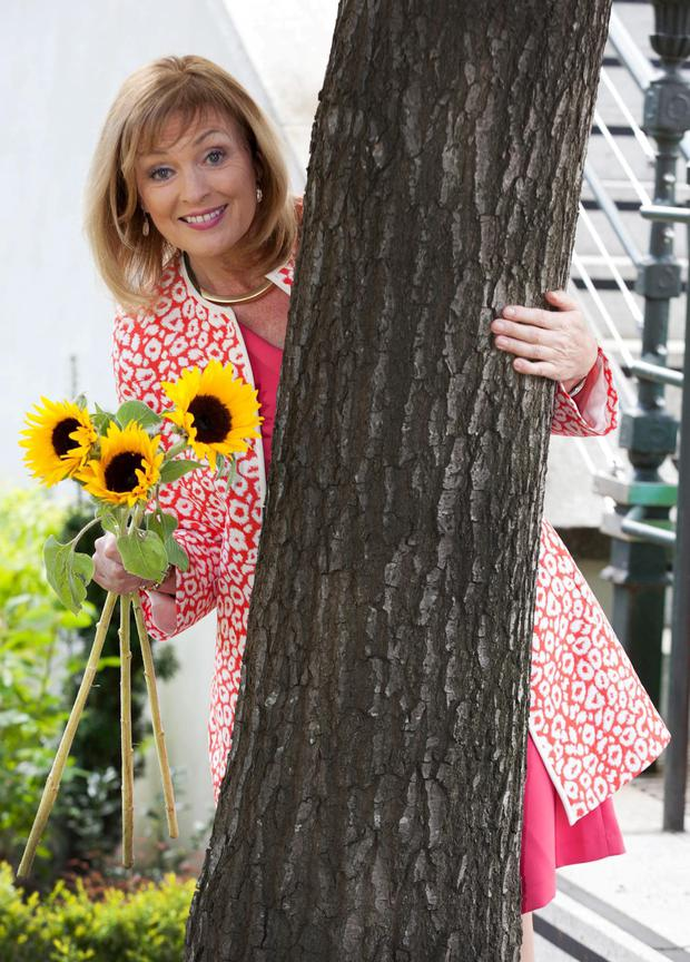 Mary Kennedy at the launch of Sunflower Day 2015. Photo: Paul Sherwood