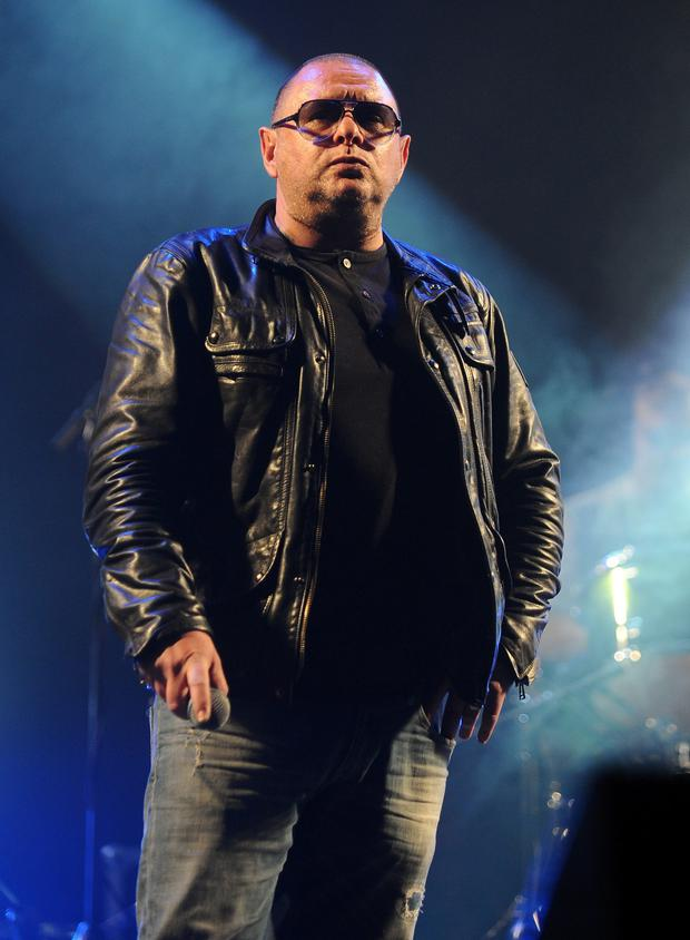 Mad for it: Shaun Ryder will be touring Happy Mondays album Pills 'n' Thrills and Bellyaches later this year