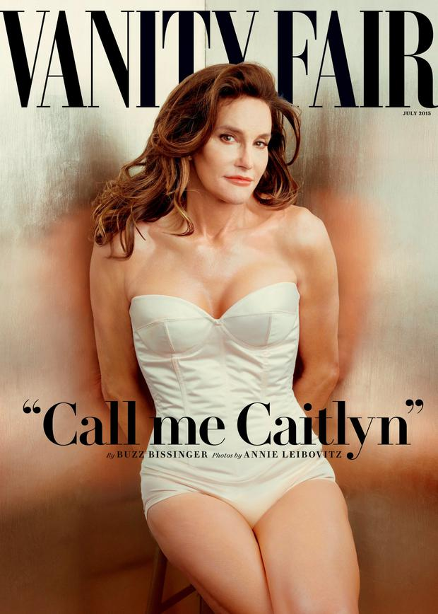 Cover girl: Caitlyn Jenner's big reveal in Vanity Fair.