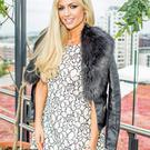 Rosanna Davison at the garden party in the Marker Hotel.
