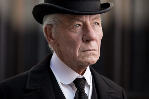Mystery: Ian McKellen playes Sherlock Holmes with gusto