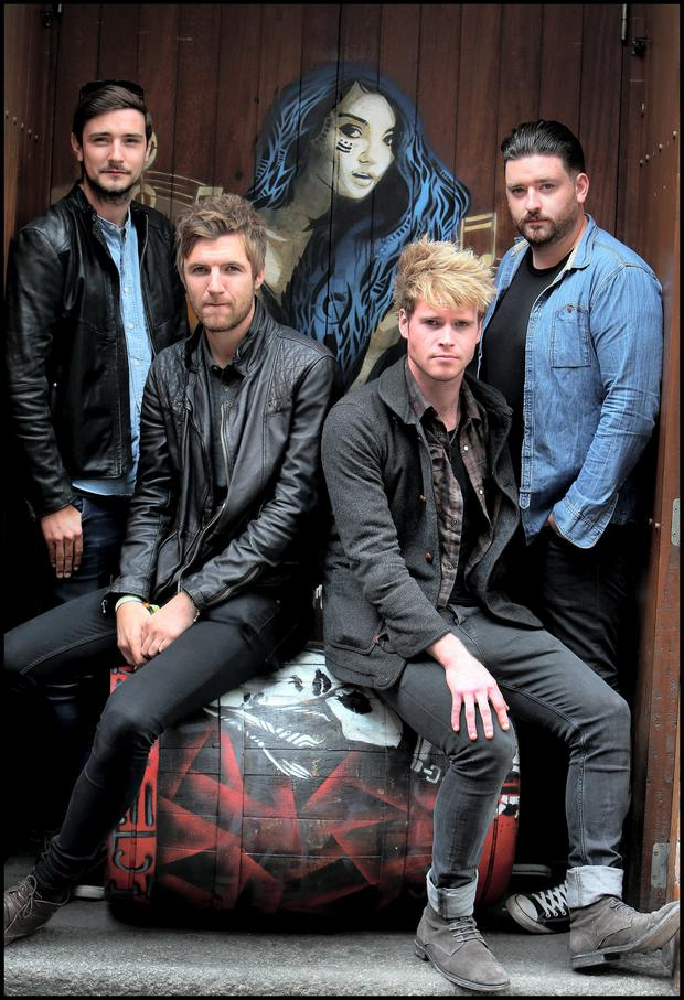 Northsiders: Vinny, Mark Jason and Steve make up Kodaline