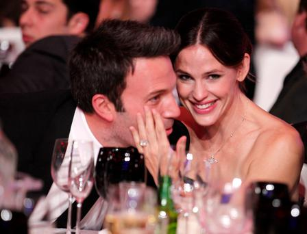 Ben Affleck and Jennifer Garner at the 2011 Critics' Choice Movie Awards.