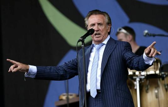 Comeback: Tony Christie is very proud of her Irish roots