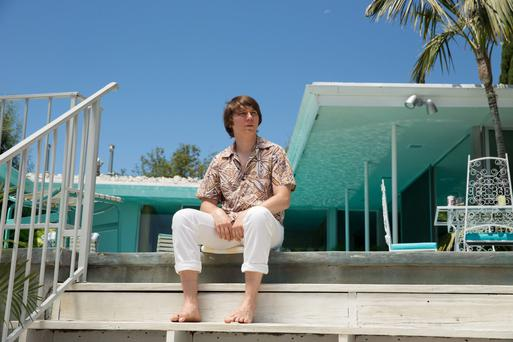 Surfs up: Paul Dano plays a young Wilson