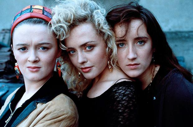 Bronagh with her Commitments co-stars Angeline Ball and Maria Doyle Kennedy