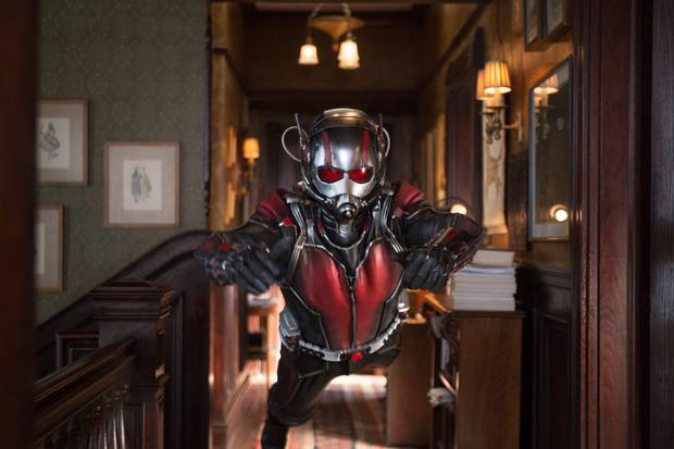 Small but deadly: Paul Rudd is Ant-Man in the latest superhero flick in the Marvel franchise