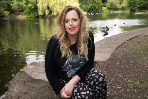 Funny girl: Roisin Conaty is becoming a major star in the world of comedy for her TV work and stand-up routines. Photo: Tony Gavin.