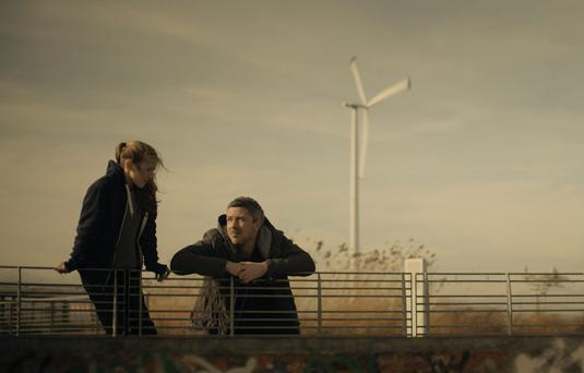 Coming of age: Lauren Kinsella and Aidan Gillen star in Mark Noonan's 'You're Ugly Too'