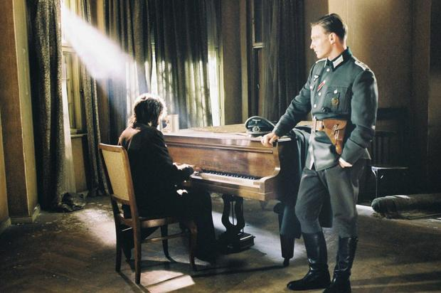 Different tune: Roman Polanski's 2004 film The Pianist, made that point that all Nazis could simply be dismissed as monsters
