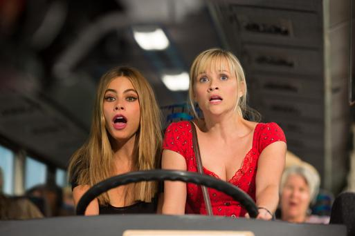 'Charmless': Sofia Vergara is under-used in 'Hot Pursuit', which co-stars Reese Witherspoon