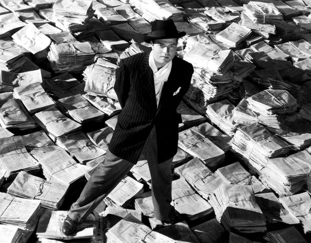 Breaking the mould: Orson Welles in Citizen Kane