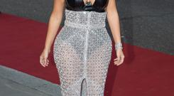 Put it away: Kim Kardashian posted a nude selfie to prove she's pregnant