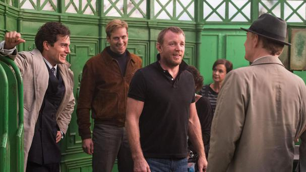 From geezer to crowd pleaser: Guy Ritchie on the set of The Man From Uncle
