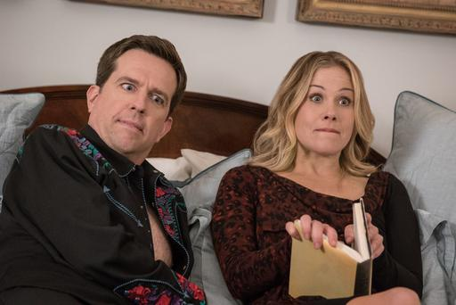 Family ties: Ed Helms and Christina Applegate star in Vacation