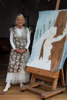 Past, present, future: Pauline Bewick says she has much more to do in her life. Photo: David Conachy.