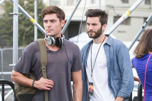 On the Up: Zac Effron and Wes Benley star in 'We Are Your Friends'