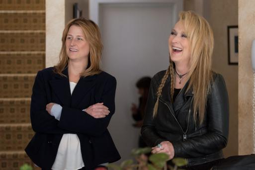 Two of a kind: Mamie Gummer stars with her real-life mother, Meryl Streep in 'Ricki and the Flash'