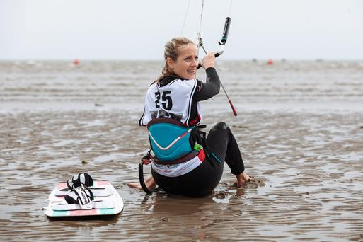 On your kite: Keel Lake on Achill Island will play host to a kite-boarding and music festival.