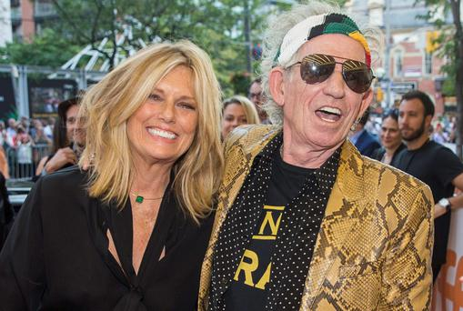 Ladies man: Keith married Patti Hanson. Photo: Reuters.