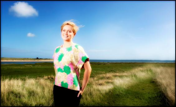 Bertie's girl: Cecelia Ahern says writing is her meditation, almost, and family is her joy. Photo: David Conachy.