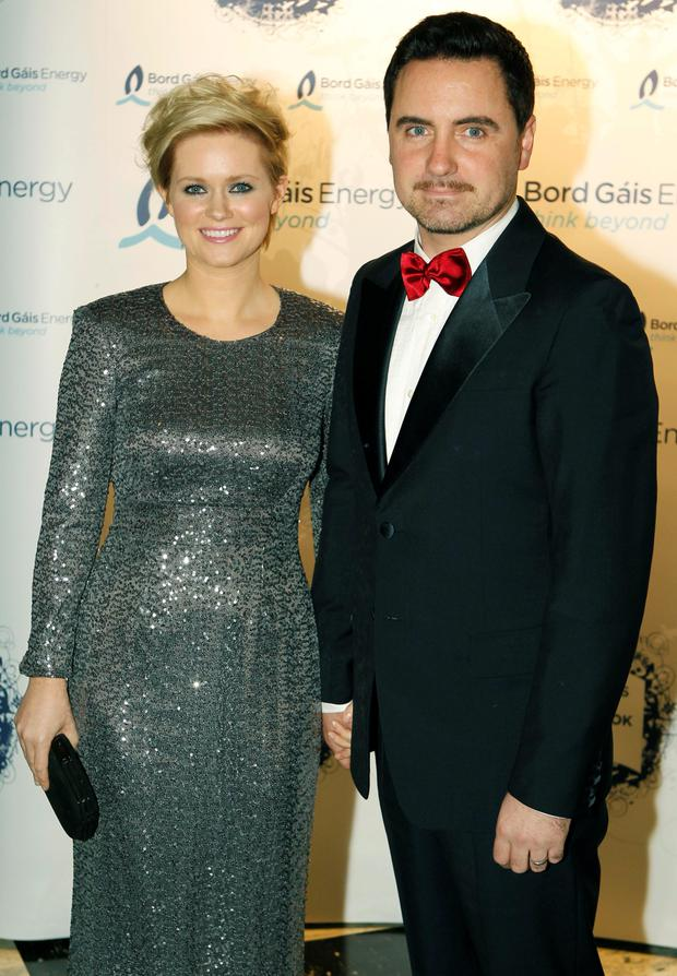 Cecelia with her husband David Keoghan