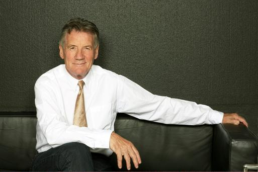 Michael Palin decided to get fit before doing travel programmes around the world.