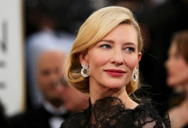 Naughty: Cate Blanchett admitted she would like to get more than up close and personal with co-star Viggo Mortensen during a game of Shag, Marry or Kill on live TV.
