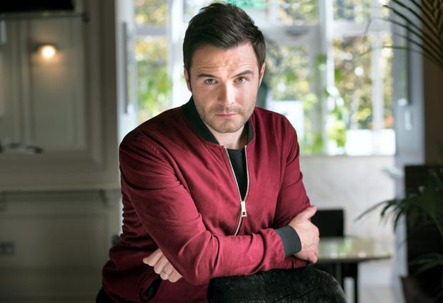Shane Filan, formerly of Westlife.