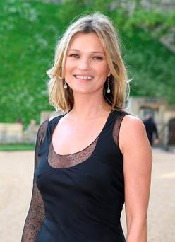 Model behaviour: Kate Moss has a new lodger.