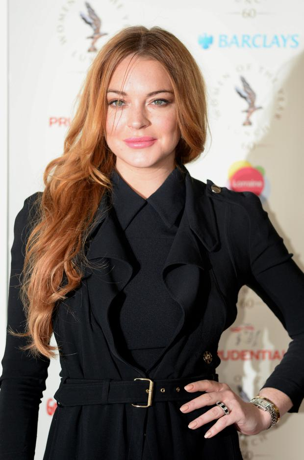 2020 White House run: Lindsay Lohan