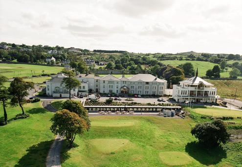 West awak: The Glenlo Abbey Hotel cuts an imposing figure among an eclectic mix of attractions in Co Galway.