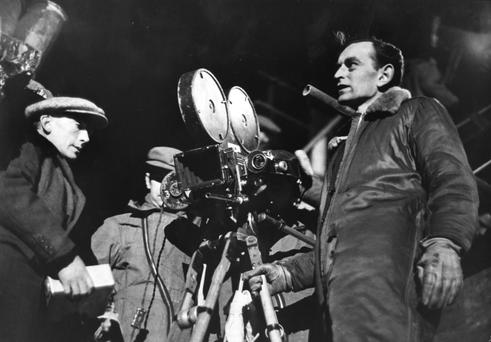Solid grounding: English film director Sir David Lean worked as an editor before moving into directing.