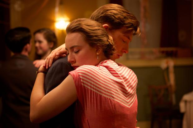 Oscars calling: Saoirse Ronan and Domhnall Gleeson are lovetorn in 'Brooklyn'