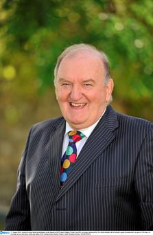 George Hook only watches rugby now if he is paid to do so.