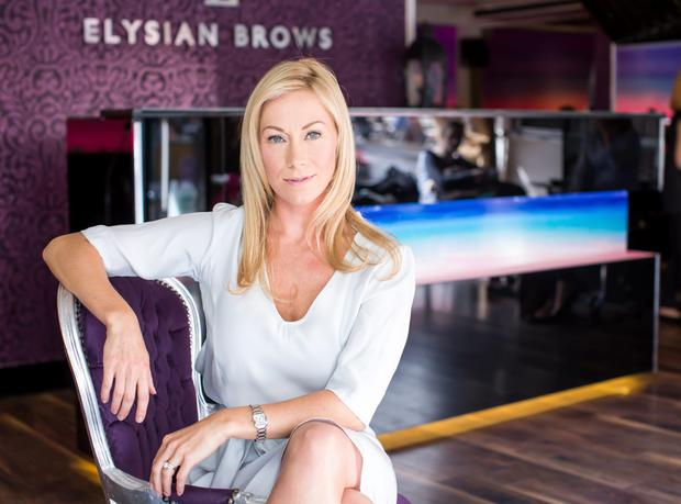 Libby Murray, owner of Elysian Brows and Beauty.