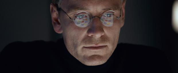 Five stars: Michael Fassbender takes on the role of cultural icon Steve Jobs