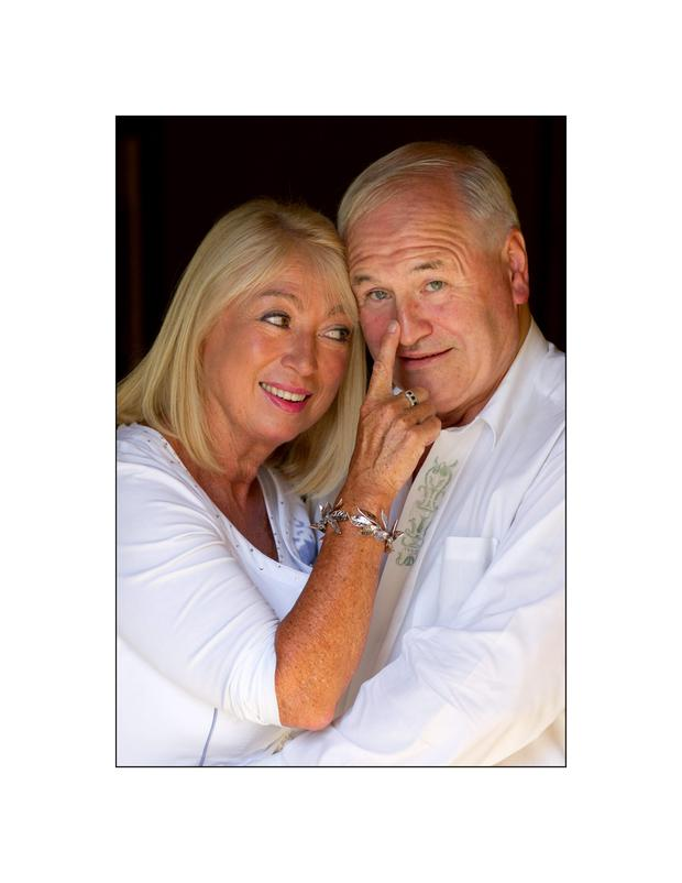 Happy together: Anne Doyle and her partner Dan McGrattan have been together for over a decade.