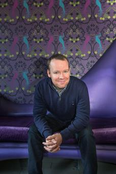 Neil Delamere: As long as it's not disparaging, my wife and my family don't mind when I mention them in my set. Photo: Mark Condren.