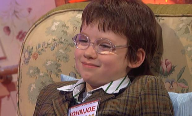 John Joe Best - the horologist from Late Late Toy Show