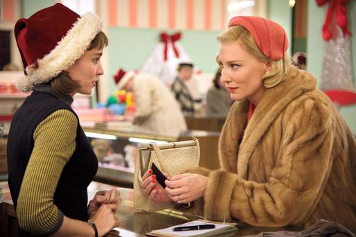 Unmissable: Rooney Mara and Cate Blanchett in 'Carol'