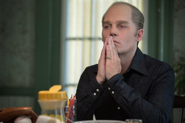 Johnny Depp is Whitey Bolger in 'Black Mass'