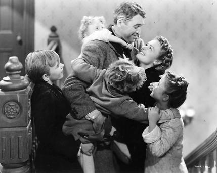 Sentiment and redemption: It's a Wonderful Life, starring James Stewart and Donna Reed, was largely forgotten until the 1970s