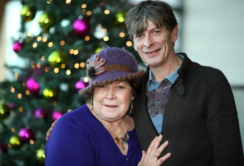 Siblings in song: Dolores and Sean Keane have always been close and will perform five concerts together after Christmas: Photo: Gerry Mooney