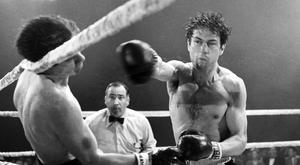 One to beat: Robert De Niro won a Best Actor Oscar for his portrayal of Jake LaMotta in Martin Scorsese's Raging Bull.