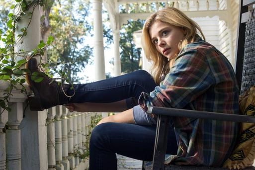 Outer space: Chloe Grace Moretz is escaping aliens in 'The 5th Wave'