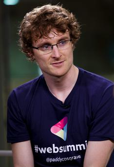 Paddy Cosgrave. Photo: Getty