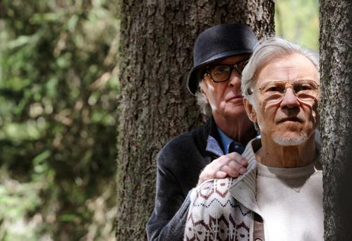 Old timers: Michael Caine and Harvey Keitel in Youth