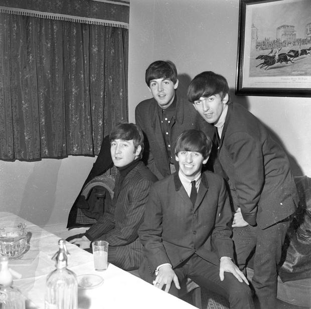 Fab four: The Beatles at the Adelphi Cinema.